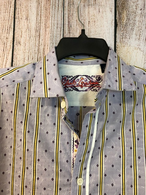 Robert Graham Shirt Button Down Shirt Lavender Image 2