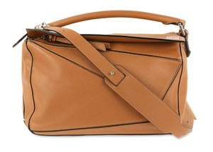 Loewe Calfskin Leather Shoulder Bag