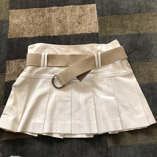 Theory Mini Skirt White Image 1