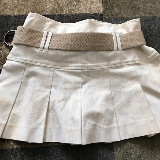 Theory Mini Skirt White Image 3