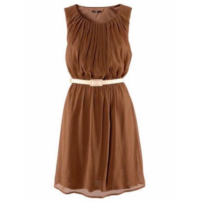 Preload https://img-static.tradesy.com/item/25252876/h-and-m-brown-pleated-mid-length-workoffice-dress-size-14-l-0-0-650-650.jpg