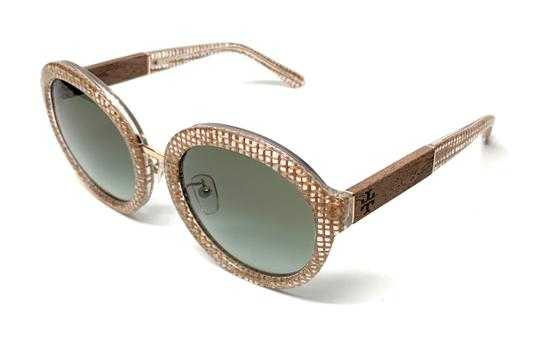 Tory Burch NEW TY 7128 1738/8E CRYSTAL / GREEN GRADIENT WOMEN'S AUTHENTIC 54-21 Image 2