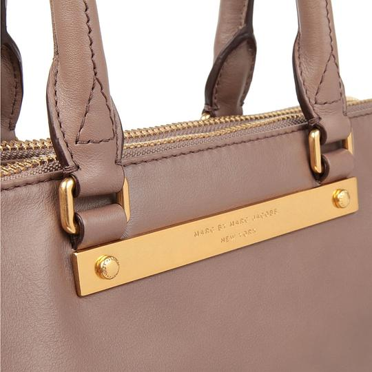 Marc by Marc Jacobs Tote Goodbye Columbus Satchel in ROOTBEER BROWN /GOLD HARDWARE Image 1