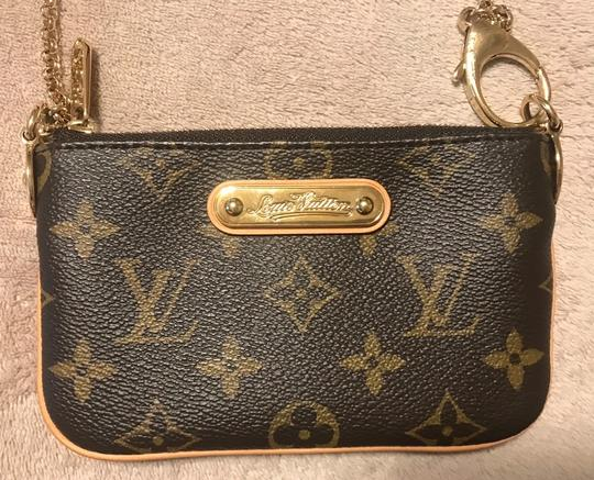 Louis Vuitton Wristlet in Brown Image 1