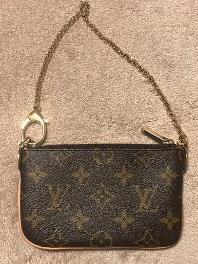 Louis Vuitton Wristlet in Brown Image 2