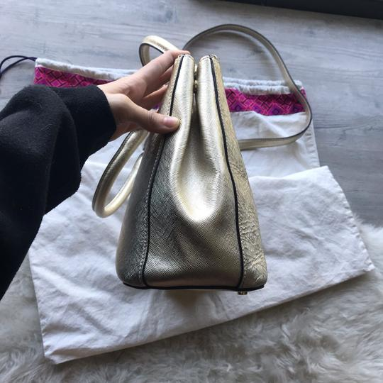 Tory Burch Satchel in Gold Image 5