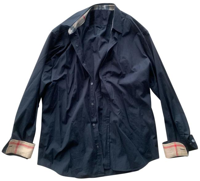 Preload https://img-static.tradesy.com/item/25252945/burberry-long-sleeves-shirt-black-william-button-down-top-size-os-one-size-0-1-650-650.jpg