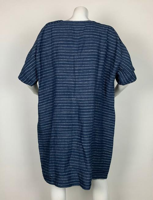 Eileen Fisher short dress Blue Linen on Tradesy Image 1