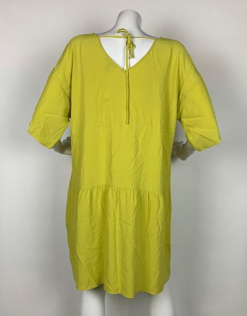 Eileen Fisher short dress Yellow Viscose on Tradesy Image 1