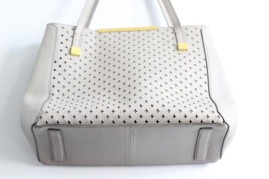 J.Crew Leather Large Satchel in Gray Image 1