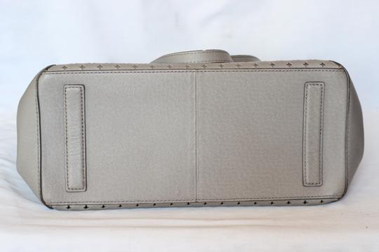 J.Crew Leather Large Satchel in Gray Image 3