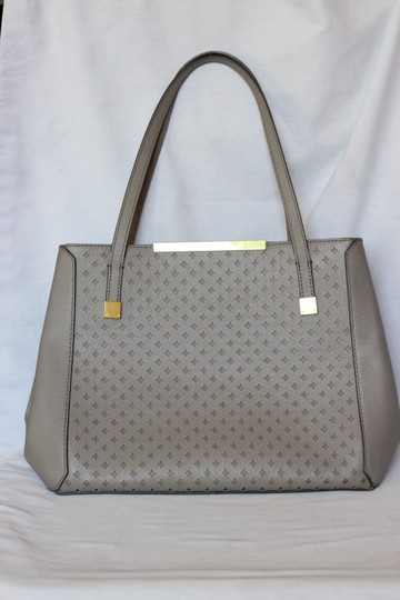 J.Crew Leather Large Satchel in Gray Image 4