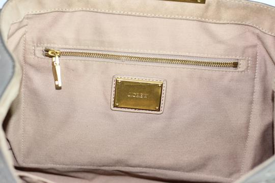 J.Crew Leather Large Satchel in Gray Image 6