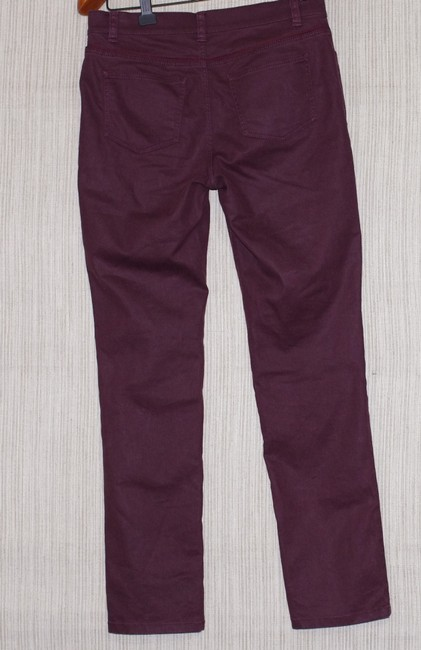 Lafayette 148 New York Skinny Jeans-Coated Image 1
