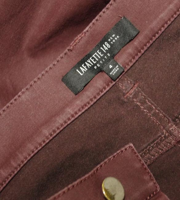 Lafayette 148 New York Skinny Jeans-Coated Image 2
