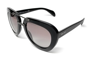 Prada NEW SPR 28R 1AB-0A7 BLACK / GREY GRADIENT WOMEN'S AUTHENTIC 52-22