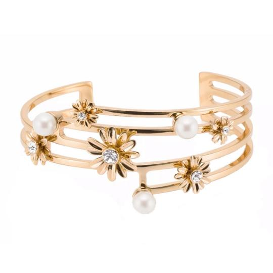 Preload https://img-static.tradesy.com/item/25253102/kate-spade-gold-dazzling-daisies-stacking-bracelet-0-0-540-540.jpg