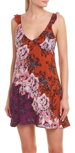 Preload https://img-static.tradesy.com/item/25253254/free-people-tabacco-lauriann-s-floral-print-short-casual-dress-size-8-m-0-1-650-650.jpg