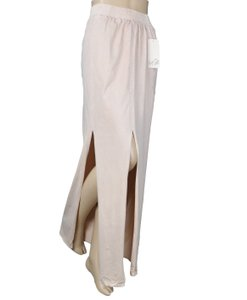 Nick & Mo Stretch Slit Maxi Skirt