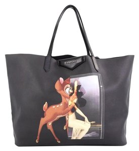 Givenchy Coated Canvas Large Tote in black