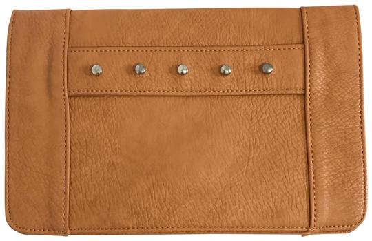 BCBGeneration Tan Clutch Image 0