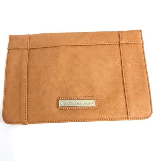 BCBGeneration Tan Clutch Image 1