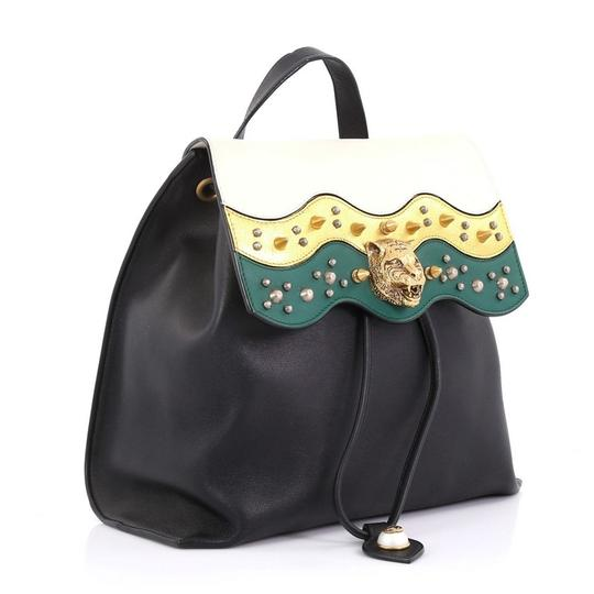 Gucci Leather Animalier Backpack Image 2
