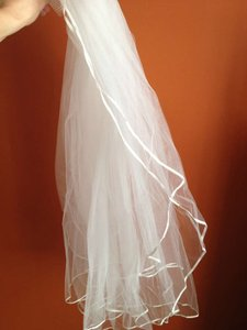 Campagne Long With Satin Edge Bridal Veil