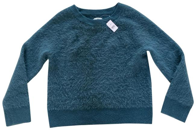 Preload https://img-static.tradesy.com/item/25253647/lou-and-grey-furry-oversized-chunky-blue-green-sweater-0-1-650-650.jpg