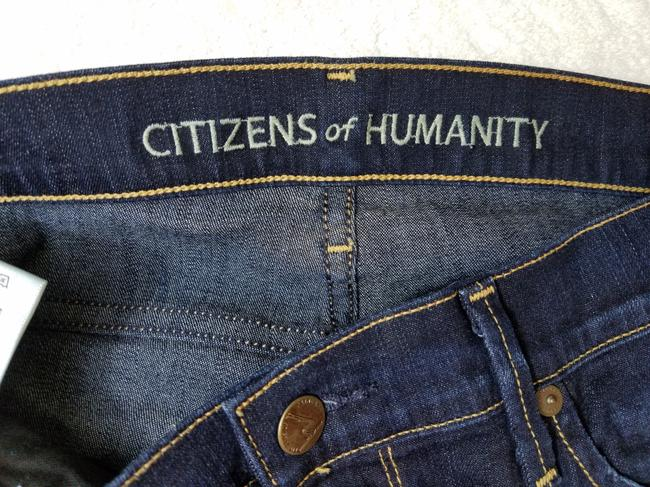 Citizens of Humanity Straight Leg Jeans-Dark Rinse Image 4