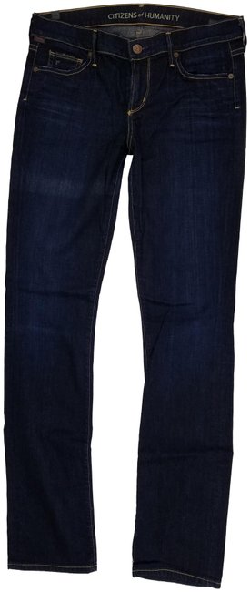 Citizens of Humanity Straight Leg Jeans-Dark Rinse Image 0