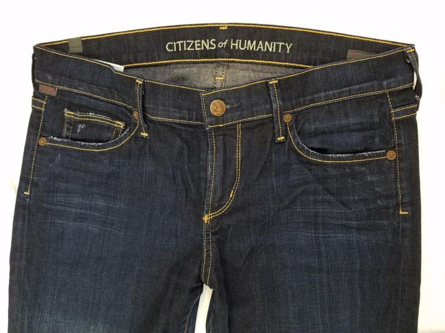 Citizens of Humanity Straight Leg Jeans-Dark Rinse Image 5