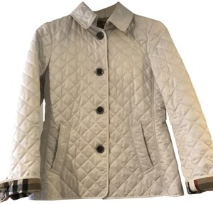 Burberry Brit White Jacket