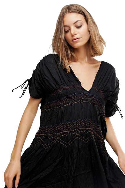 Preload https://img-static.tradesy.com/item/25253803/free-people-black-embroidered-short-casual-dress-size-2-xs-0-2-650-650.jpg