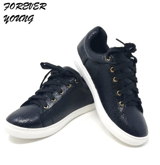 Forever Young Fashion Sneakers Sneakers Black Athletic Image 0