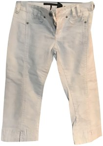 Buffalo David Bitton Cropped Pants Capris Very light blue almost white