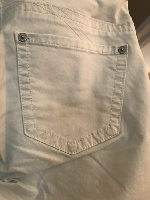 Buffalo David Bitton Cropped Pants Capris Very light blue almost white Image 2