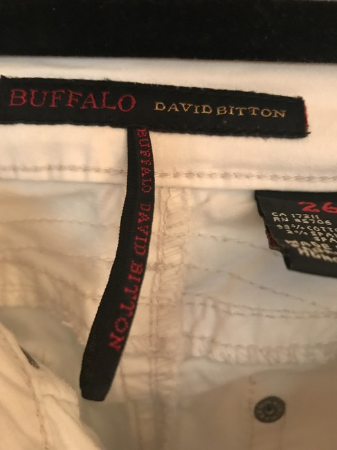 Buffalo David Bitton Cropped Pants Capris Very light blue almost white Image 4
