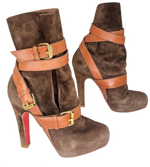 Preload https://img-static.tradesy.com/item/25253920/christian-louboutin-brown-guerriere-120-suede-ankle-bootsbooties-size-eu-36-approx-us-6-regular-m-b-0-1-540-540.jpg