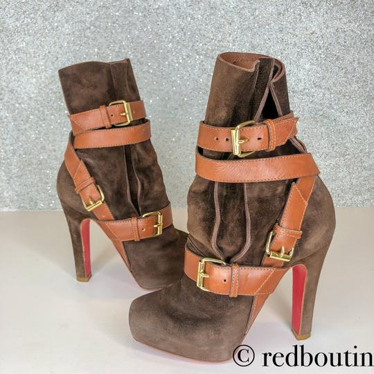 Christian Louboutin brown Boots Image 10