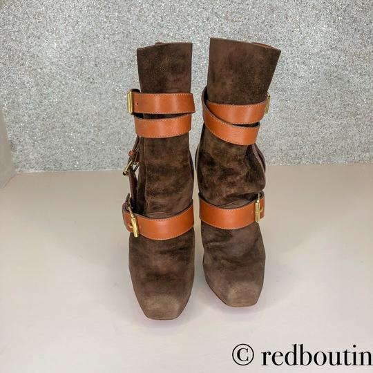 Christian Louboutin brown Boots Image 4