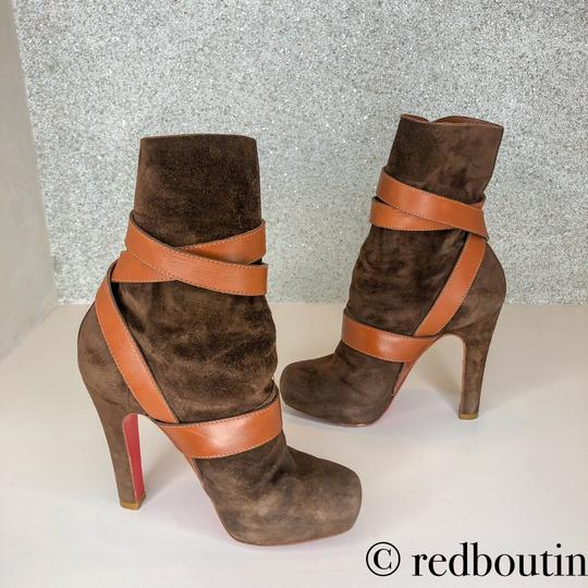 Christian Louboutin brown Boots Image 6