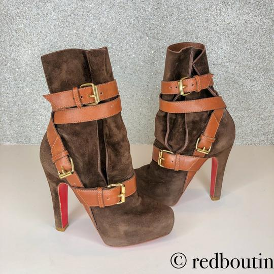 Christian Louboutin brown Boots Image 7