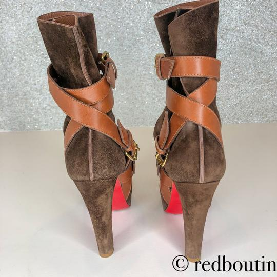 Christian Louboutin brown Boots Image 8