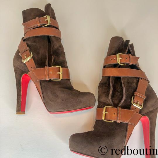Christian Louboutin brown Boots Image 9