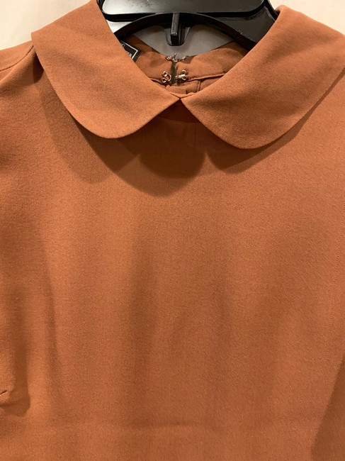 By Malene Birger Silk Hip Detailing Top brown Image 2