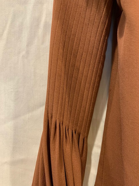 By Malene Birger Silk Hip Detailing Top brown Image 3