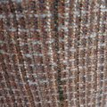 100% CHANEL TWEED SIZE 64/62 INCH 30% WOOL 50% COTON 20% LUXRA FOR JACKET OR CARDIGAN 100% CHANEL TWEED FABRIC PANEL MATERIAL 64/62 INCH FOR SEWN JACKET OR DRESS Image 1