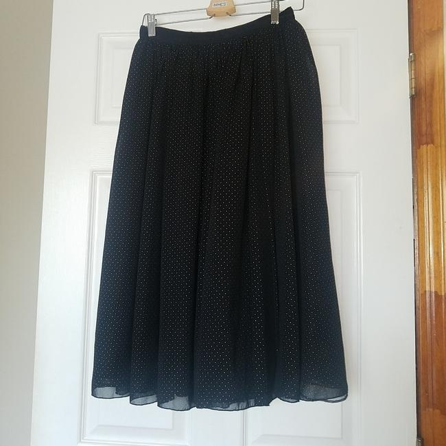 Item - Black and Gold Full Skirt Size 4 (S, 27)