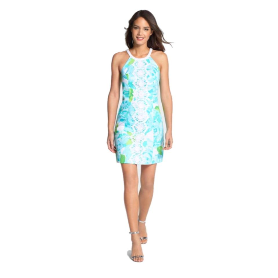 7d77f919edb9ee Lilly Pulitzer Poolside Blue Pearl Shift First Impressions Short ...